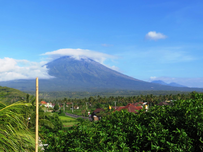 Voyage vélo Indonésie, Voyage d'Ailleurs, mont Agung, Bali