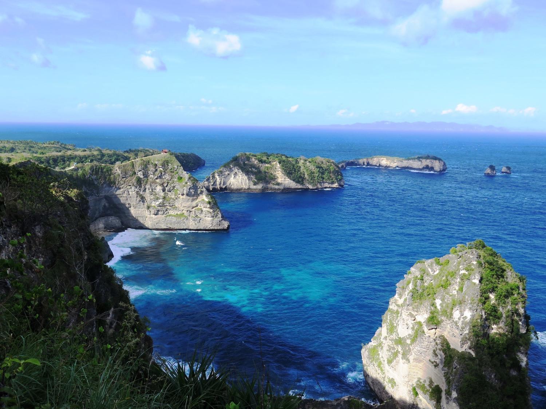 Voyage vélo Indosésie, Voyage d'Ailleurs, Panorama Lempo Tinimbayo, Nusa Penida