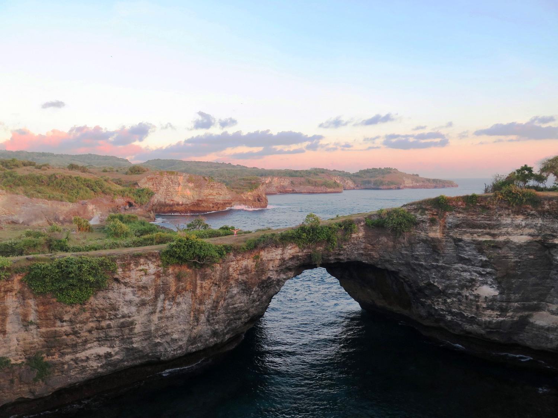 Voyage vélo Indosésie, Voyage d'Ailleurs, Broken Beach, Nusa Penida, Bali