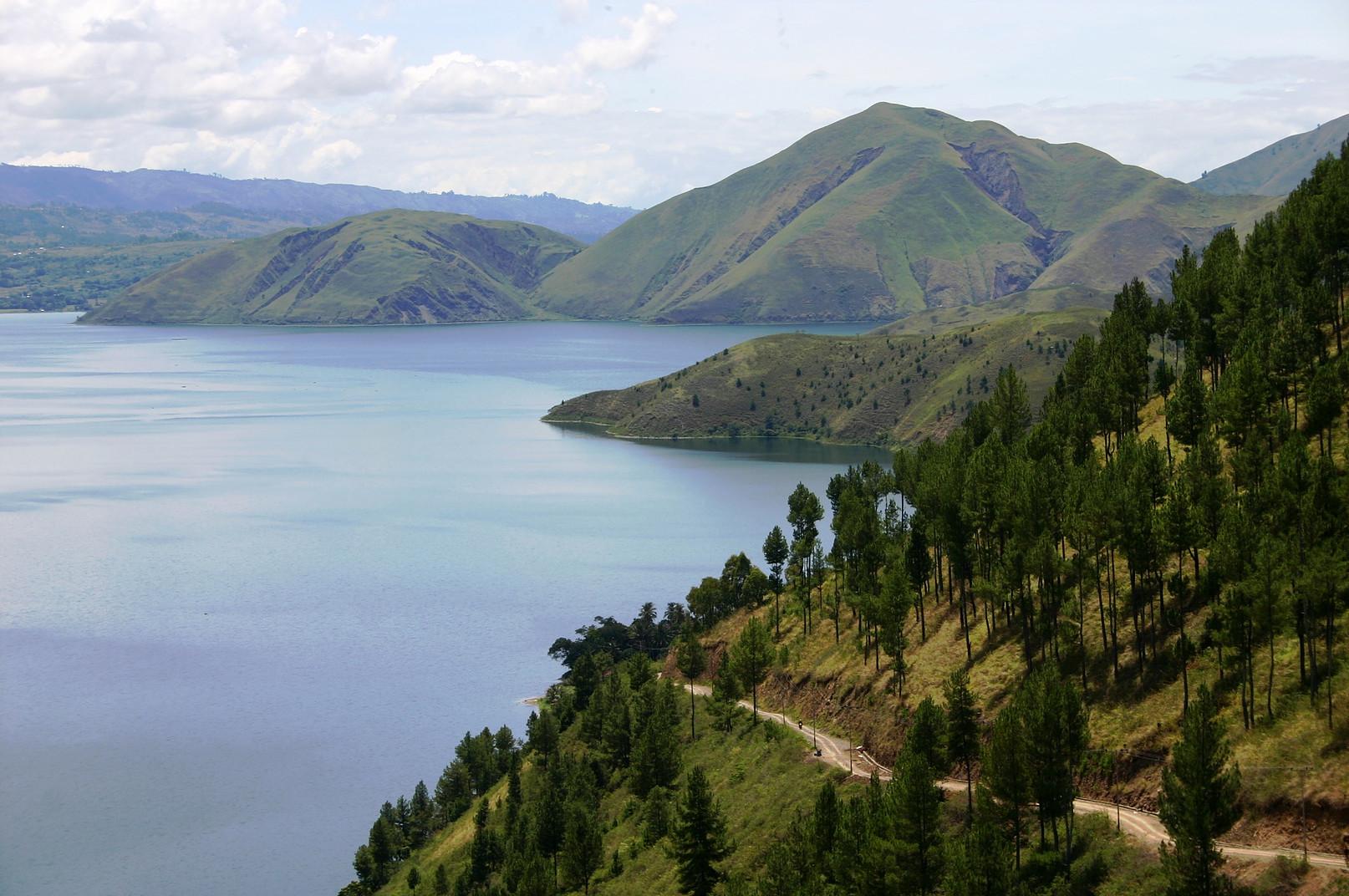 Voyage vélo Indonésie, Voyages d'Ailleurs, Lac Toba, Sumatra