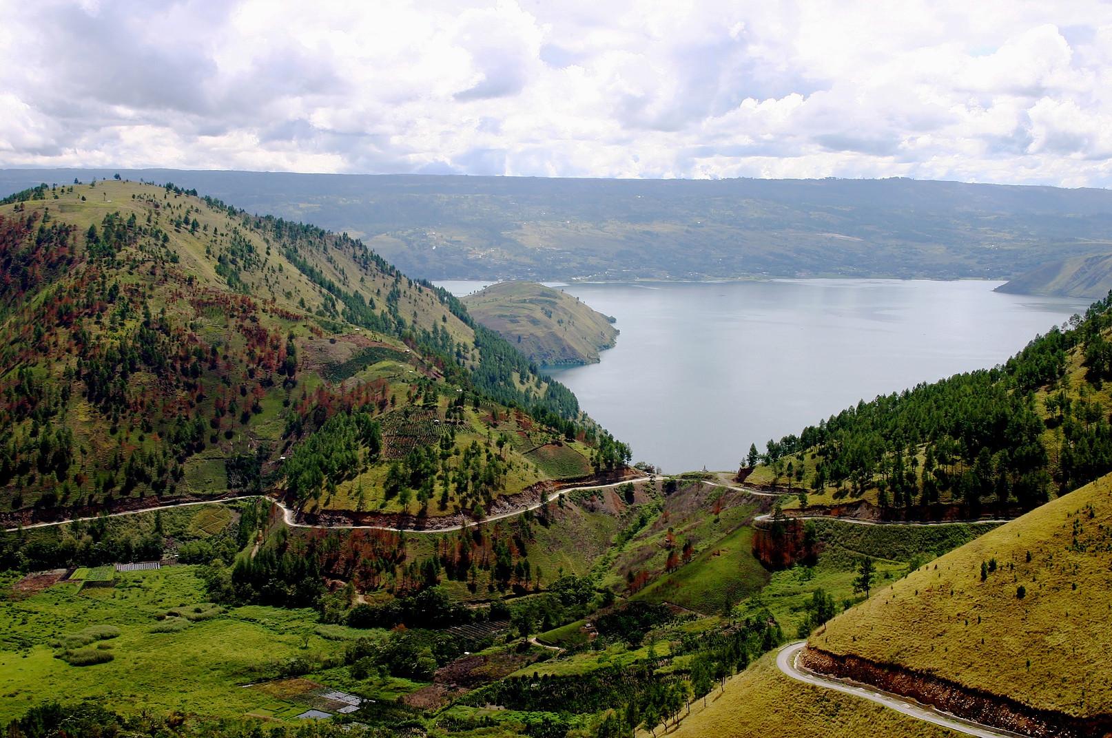 Voyage vélo Indonésie, Voyages d'Ailleurs, lac Toba