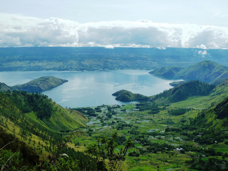 Voyage vélo Indonésie, Voyages d'Ailleurs, lac Toba, Sumatra, Indonésie
