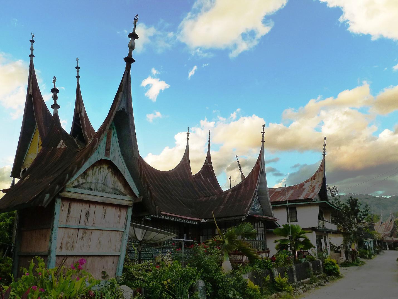 Voyages vélo Indonésie, Voyages d'Ailleurs, Seribu Rumah Gadang, Sumatra, Indonésie
