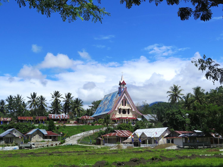 Voyage vélo Indosésie, Voyage d'Ailleurs, Eglise, Sulawesi