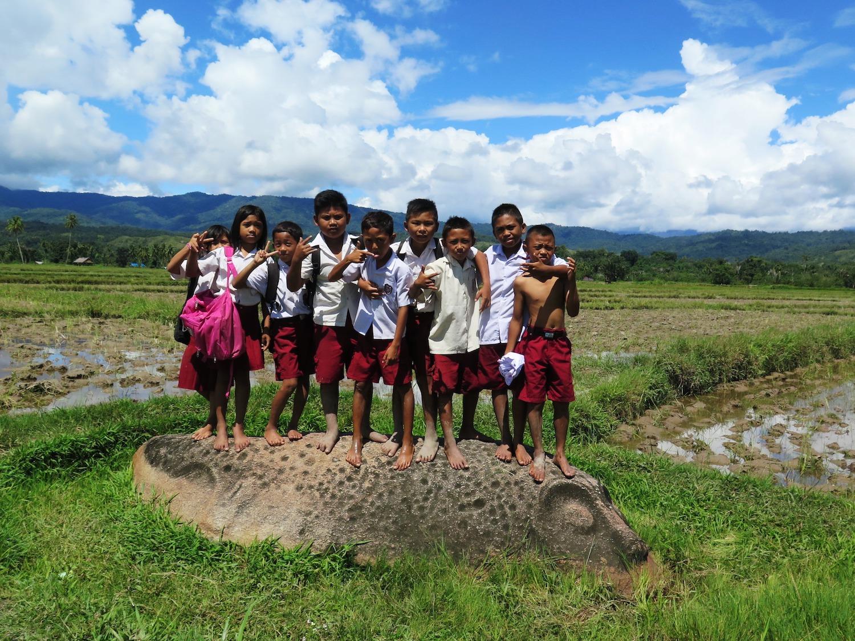 Voyage vélo Indonésie, Voyages d'Ailleurs, Mégalithes, Sulawesi, Indonésie