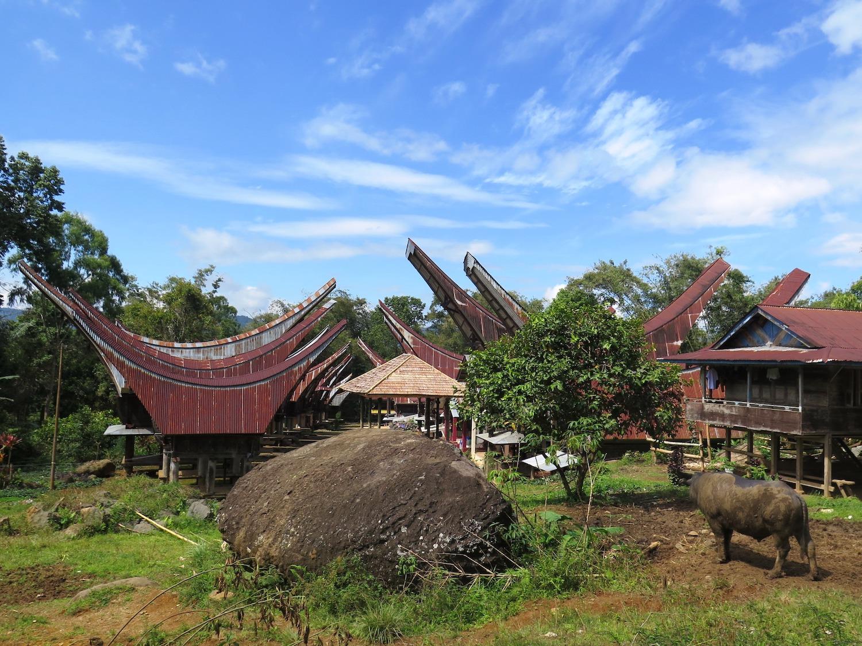 Voyage vélo Indonésie, Voyages d'Ailleurs, Tangkonan, pays Toraja, Sulawesi